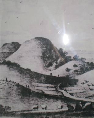 Вид пагорбів біля с.сахнівка. з